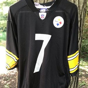 NFL Pittsburgh steelers Roethlisberger #7 jersey